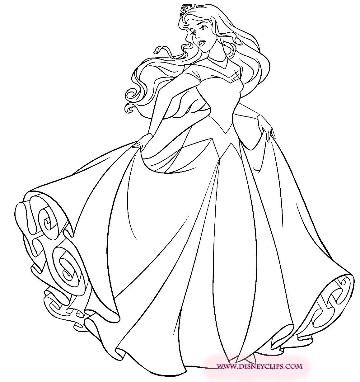 24 Amazing Image Of Aurora Coloring Pages Sleeping Beauty