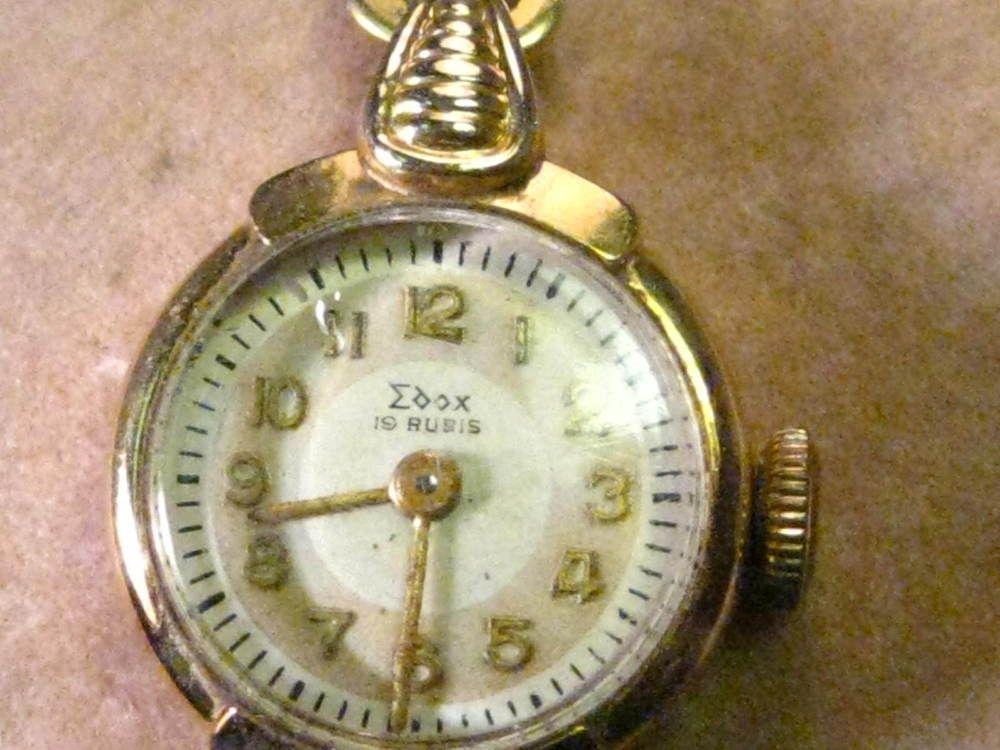 Vintage 18kt Gold Ladies Edox Watch, 10kt Gold Filled Bulova Watch & 1 more -NW #EdoxBulovaandBucherer #Casualdressvintage