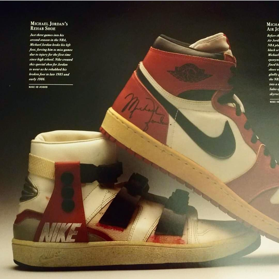 official photos fefd4 fd447 Nike made this sneaker for Michael Jordan after a broken foot just three  days into his second season going into 1986 • Should this story be  revisited for a ...