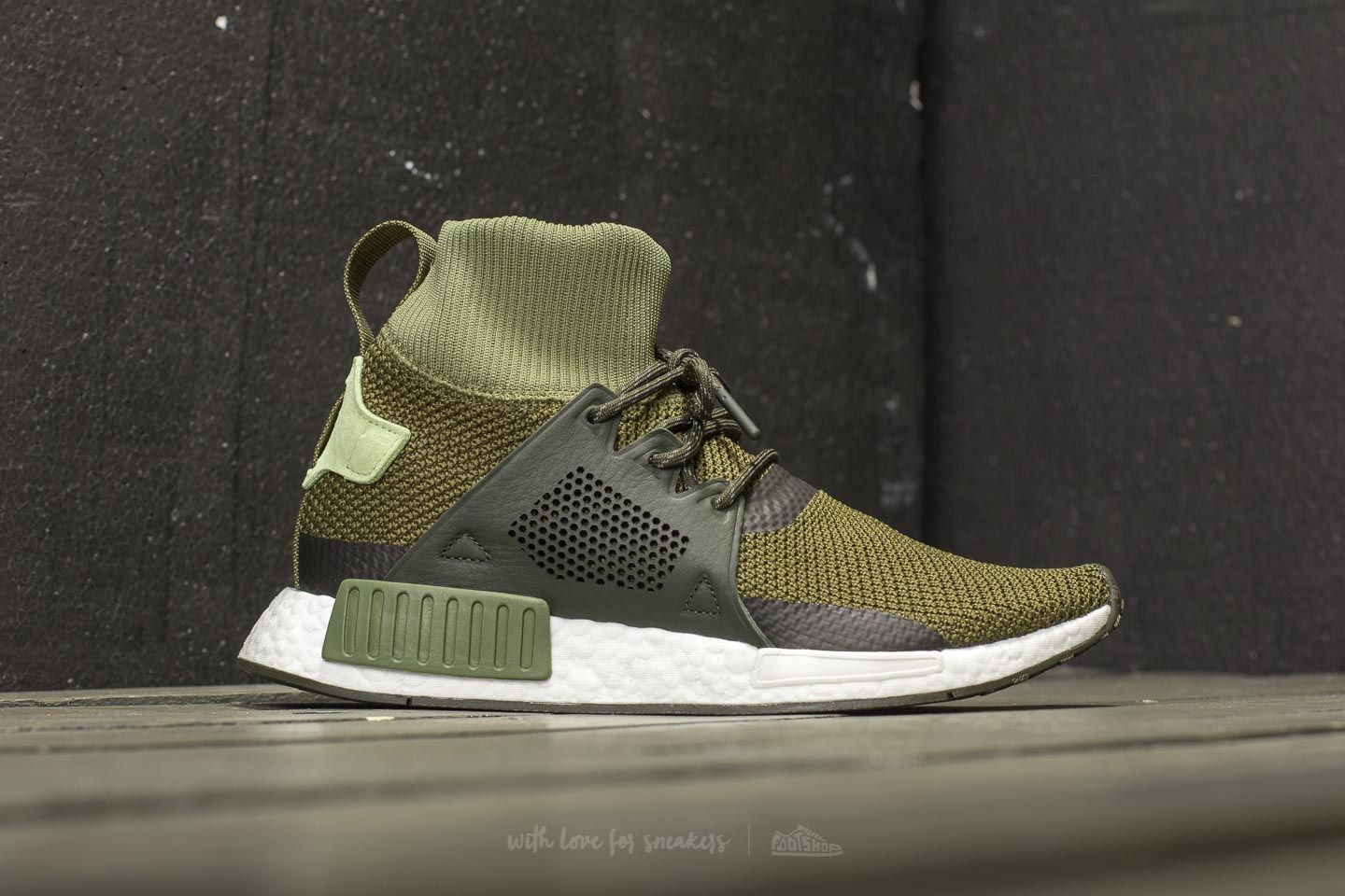 detailed look 5d8e8 11e82 adidas NMD_XR1 Winter Olive Cargo/ Night Cargo/ Umber at a ...