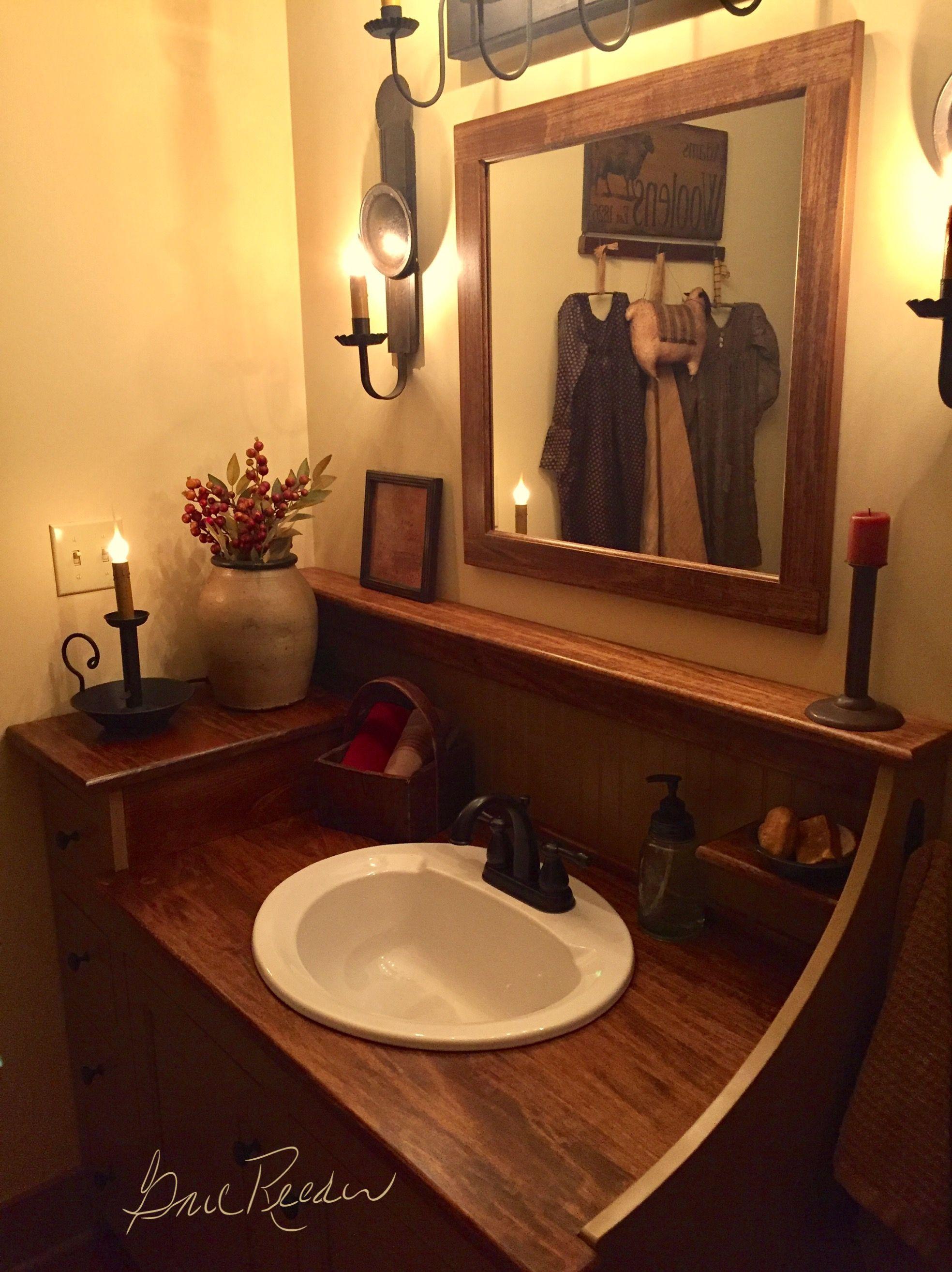 American Colonial Bathroom #1