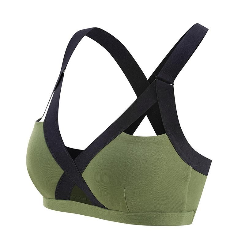 5e9c849e48 Model Number  Wirefree green sports bra Sports Type  Running Feature   Anti-sweat Material  87%Nylon