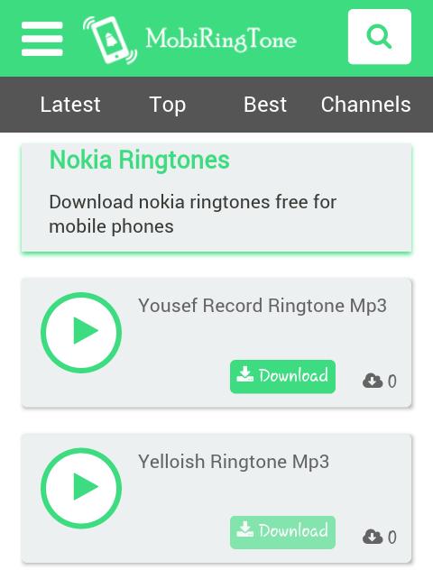 nokia new version ringtone download