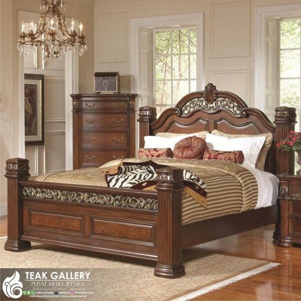 Modern Furniture Jepara tempat tidur klasik modern verlotta sebagai produk furniture