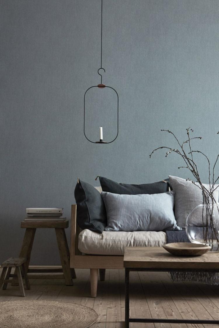 35 Stunning Ice Blue Living Room Design