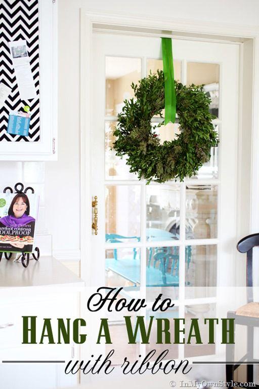 Christmas decorating idea using greenery. Decorating idea for ...