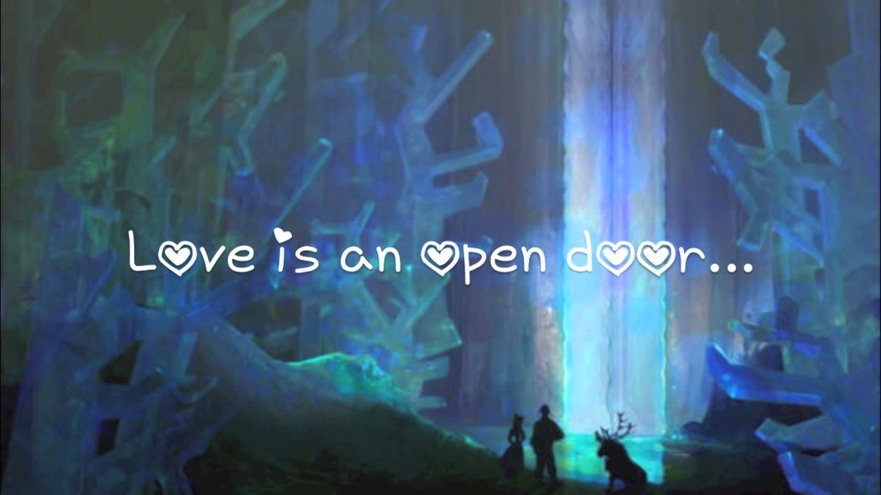 Love Is An Open Door Lyrics Frozen Heart Guest Book Frozen Song Lyrics Frozen Photos