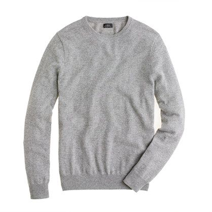 SLIM CASHMERE CREWNECK SWEATER $225.00