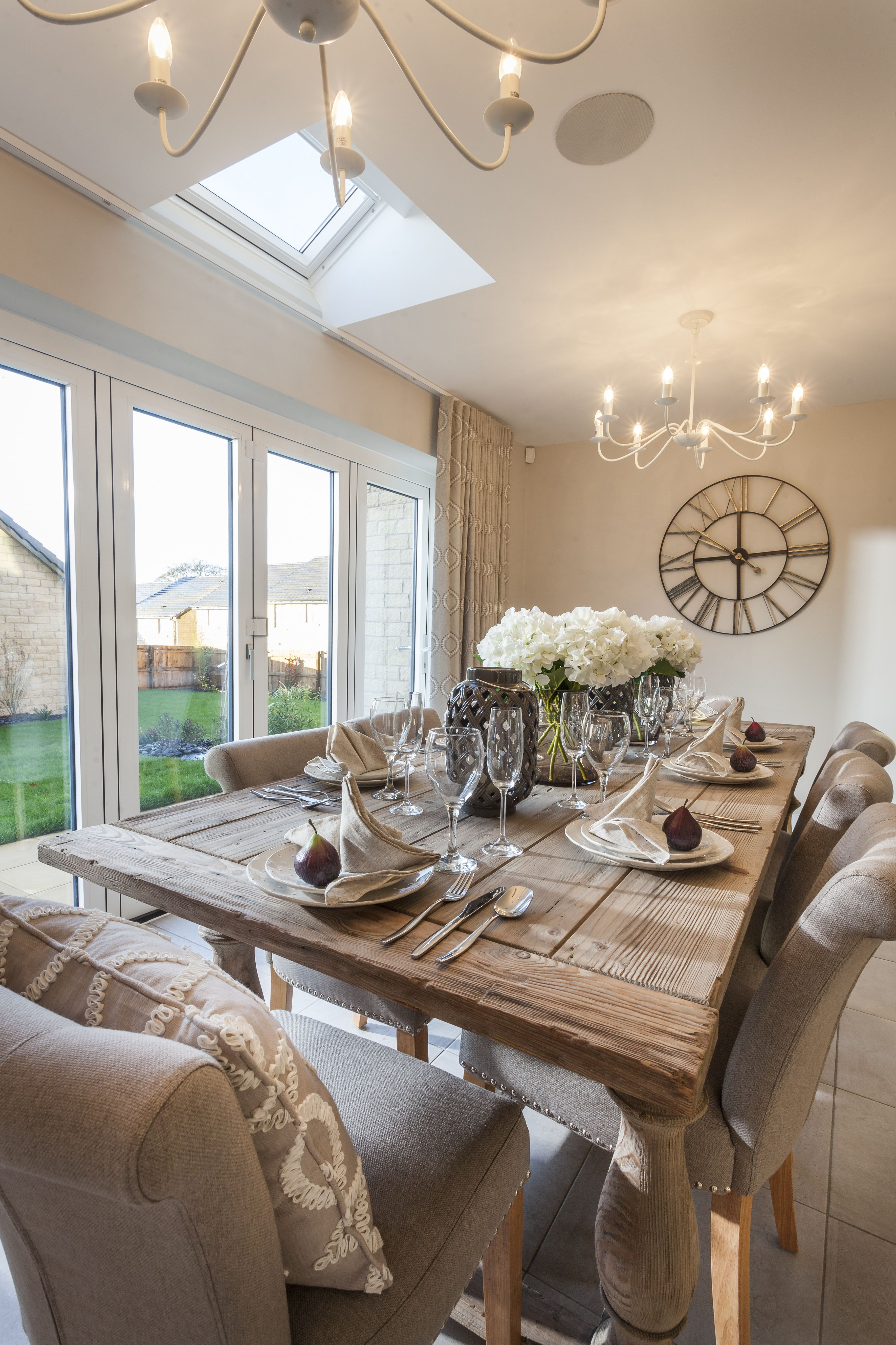 The Coppice Home, Home decor, Rustic dining table