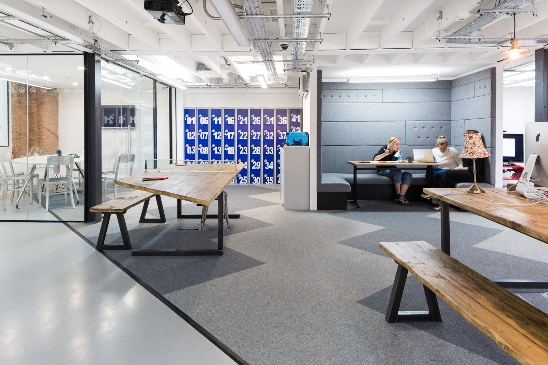 A Look Inside Pink Squids London Office Design firms Office