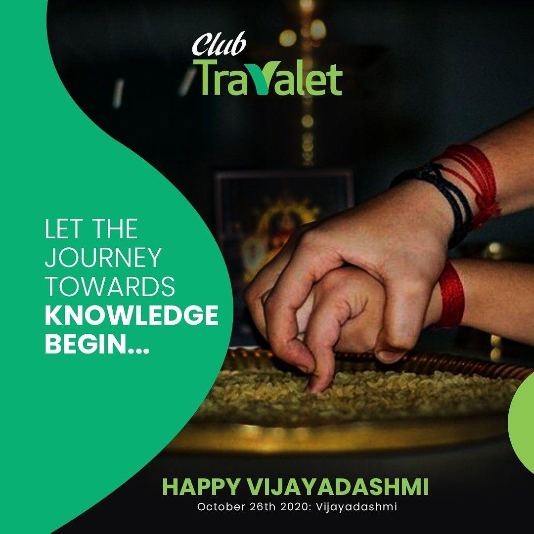 Club Travalet is celebrating Vijayadaindianshmi and wishing everybody a happy and prosperous life. As we open the doors of knowledge to our children, let's be a true guardian and guide in their journey towards success. #vijay #vijaydashmi #vijayadashmi #vijaydussehrasethupathi #vijayadasami #bajrangbali #kolkata #dussera #durgapuja #rammandir #bhimgodamandir #festivalvibes #festival #hanumanjifanclub #salasarmaharaj #vibes #happydiwali #dushera #postoftheday #ShoppingOffers