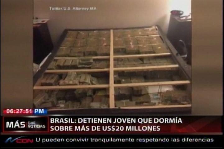 Detienen En Boston Al Joven Brasileño Que Dormía Sobre Más De US$20MM En Efectivo