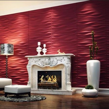 Ripple 3D PU Wall Flat Panel large format Bring your walls to life with our New 3d PU wall panels made from high quality Polyurethane Fireproof