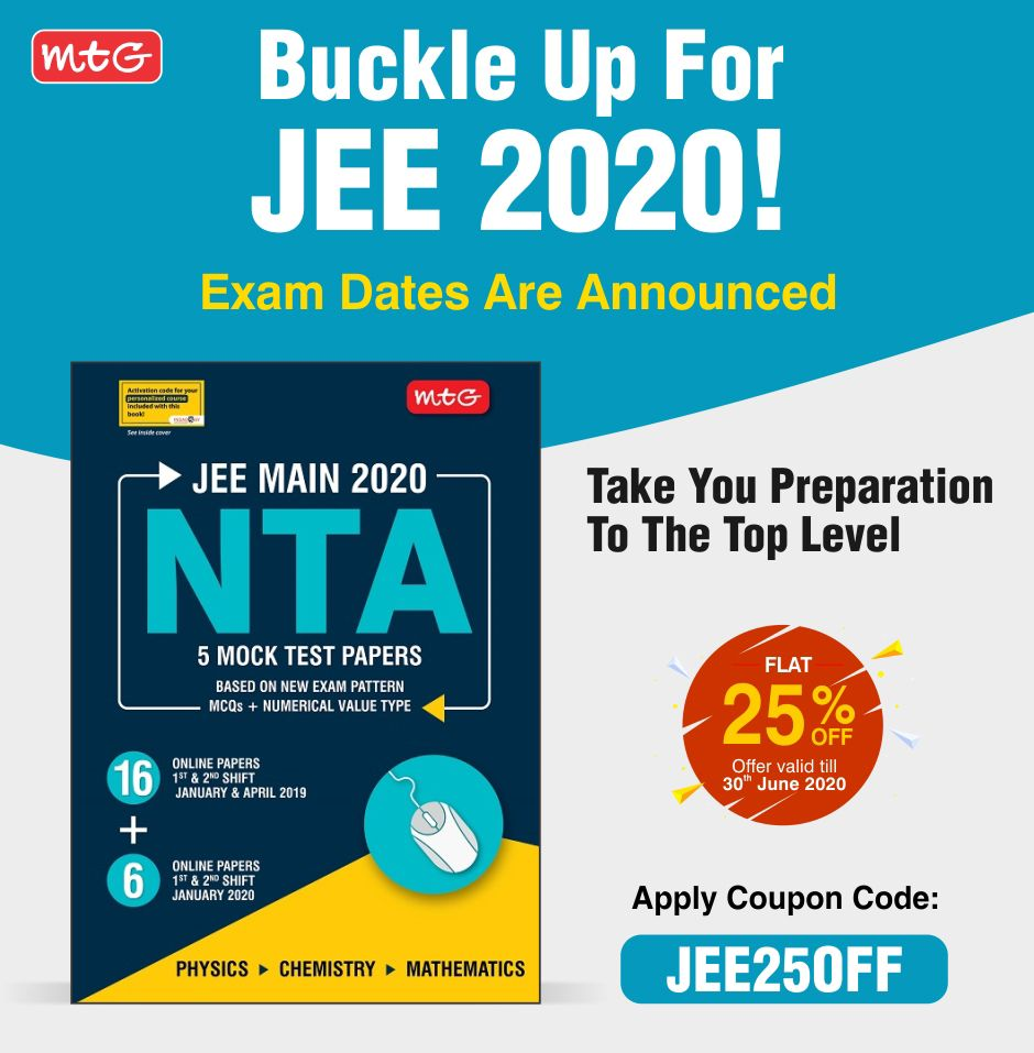 Jee Mains 2020 In 2020 Exam Online Tests Mock Test