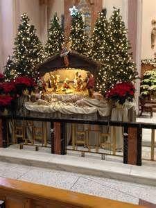 Ssj Christmas Christmas Altar Church Holiday Christmas Nativity Church Church Christmas Decorations Christian Christmas Decorations Christmas Church