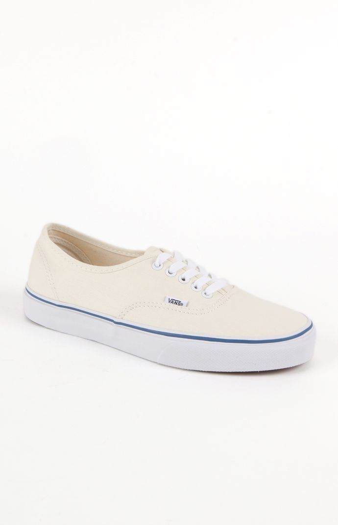 c8948483e0  Vans Authentic Off White Shoes...buying these tomorrow...perfect for  colored skinny jeans