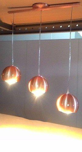 Resultado de imagem para luminaria de trilho cobre