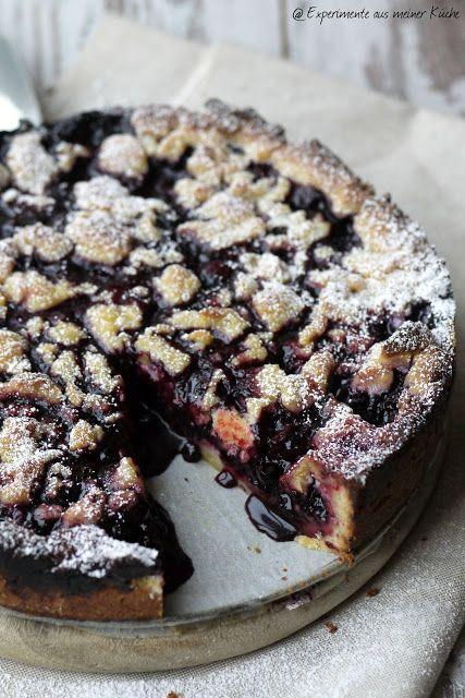Heidelbeer-Marzipan-Streuselkuchen | Experimente aus meiner küche ...