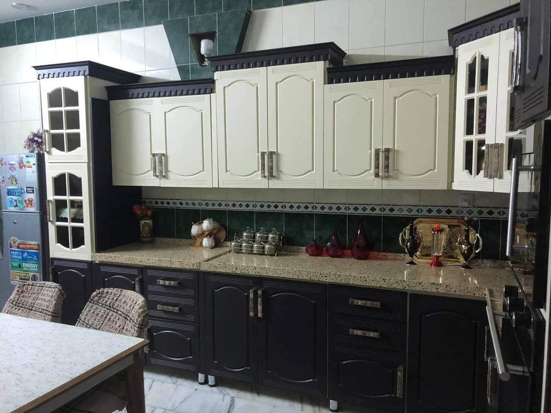Pin By Ihsanjabbar2 On Modern Kitchen مطبخ حديث Kitchen Kitchen Cabinets Decor