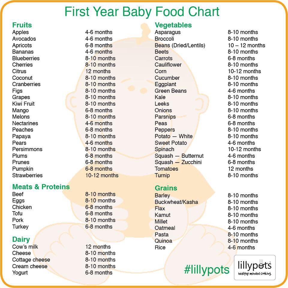 Baby food list homemadebabyfoodisbest Baby food recipes