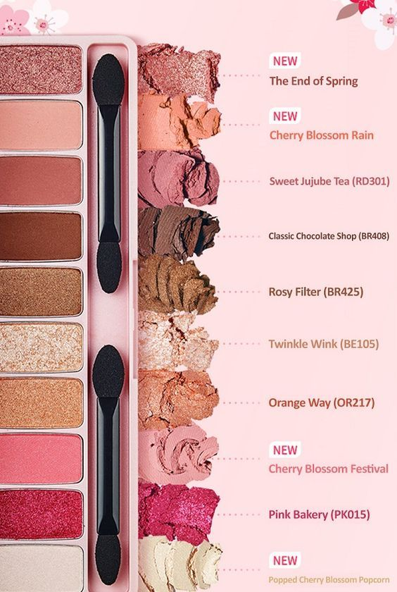 It S Spring We Need Etude House S Cherry Blossom Play Color Eyes
