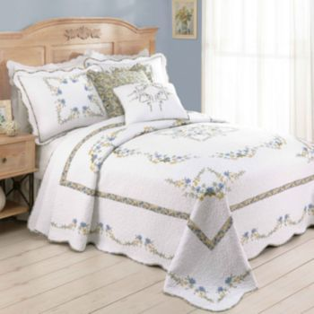 Modern Heirloom Heather Quilted Bedspread Coordinates