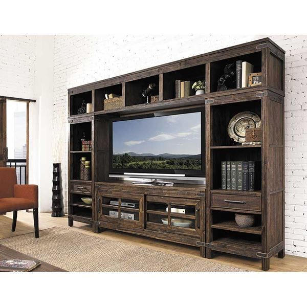 New Castle Entertainment Wall Unit By Hilale Furniture Is Now Available At American Warehouse