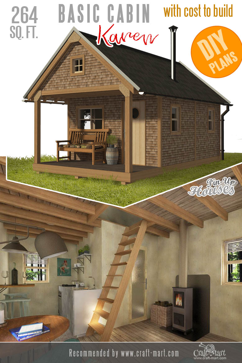 Awesome Small And Tiny Home Plans For Low Diy Budget Craft Mart Tiny House Plans Small Cabin Plans House Plans