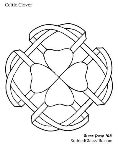 Celtic clover | Lindisfarne | Pinterest | Mandalas, Celta y Mosaicos