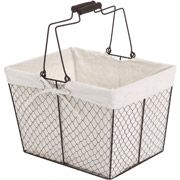 7464049bb8d3cd6cdd7e76eccd4abc76 - Better Homes And Gardens Wire Basket With Chalkboard Black