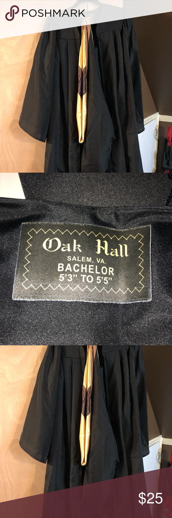 Oak hall bachelors graduation gown | My Posh Closet | Pinterest ...