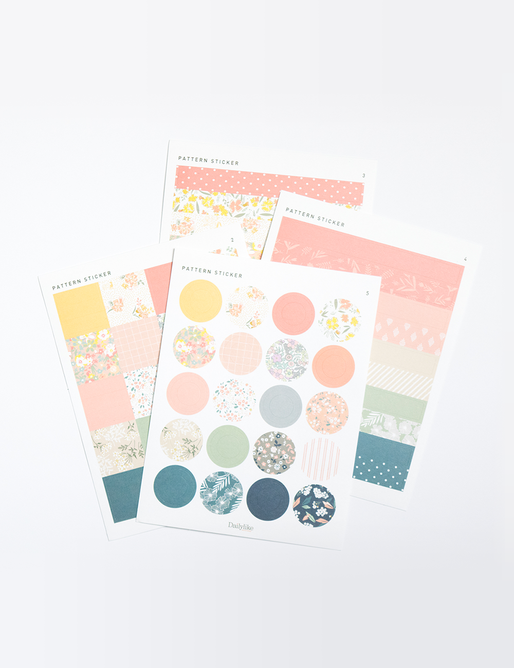 The Dailylike Pattern Deco Sticker is THE sticker pack all DIY, craft lovers, and artsy people NEED! There are 9 sheets of different shapes, sizes, and designs! ❤