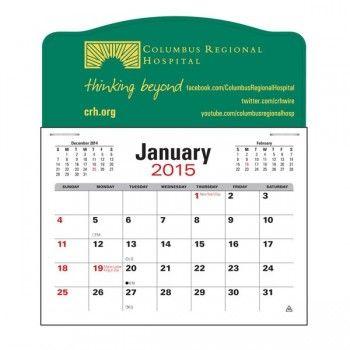 Vitronic Promotional Group -Press-N-Stick™ Jumbo 3-Month Calendar - sample 2015 calendar