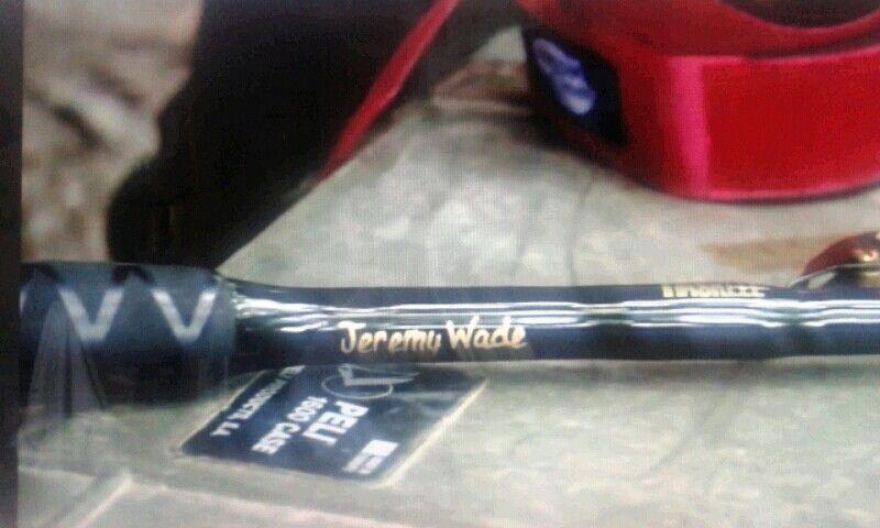Jeremy wade rod let 39 s go fishin pinterest jeremy wade for Jeremy wade fishing rod