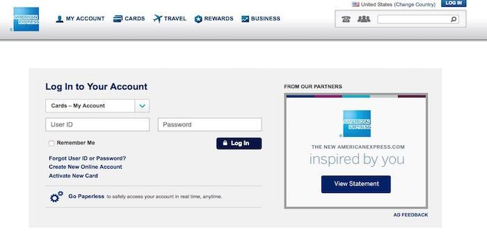 American Express Business Login American Express Business