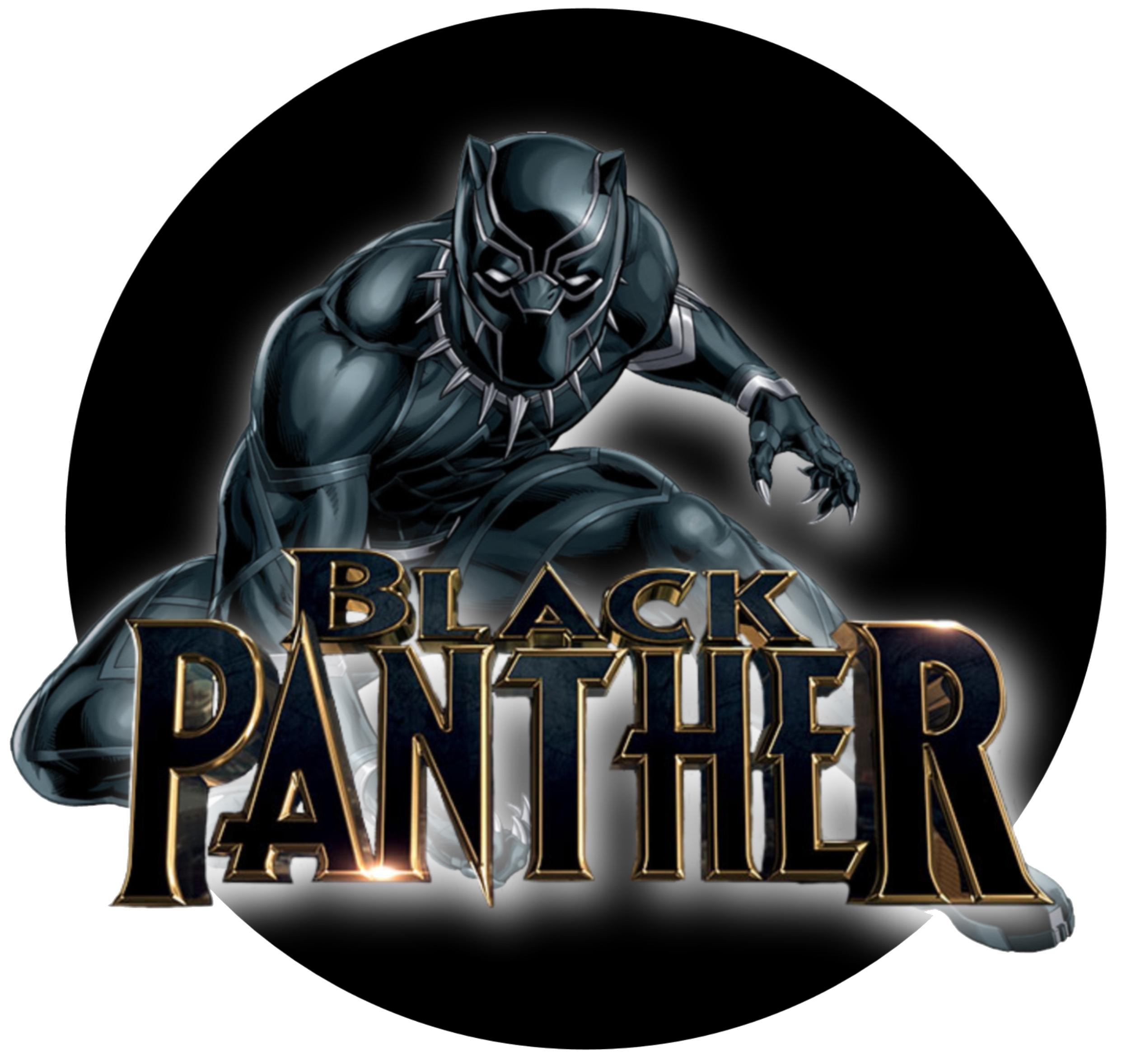 Black Panther Tag Festa De Super Herois Festa Dos Vingadores Vingadores