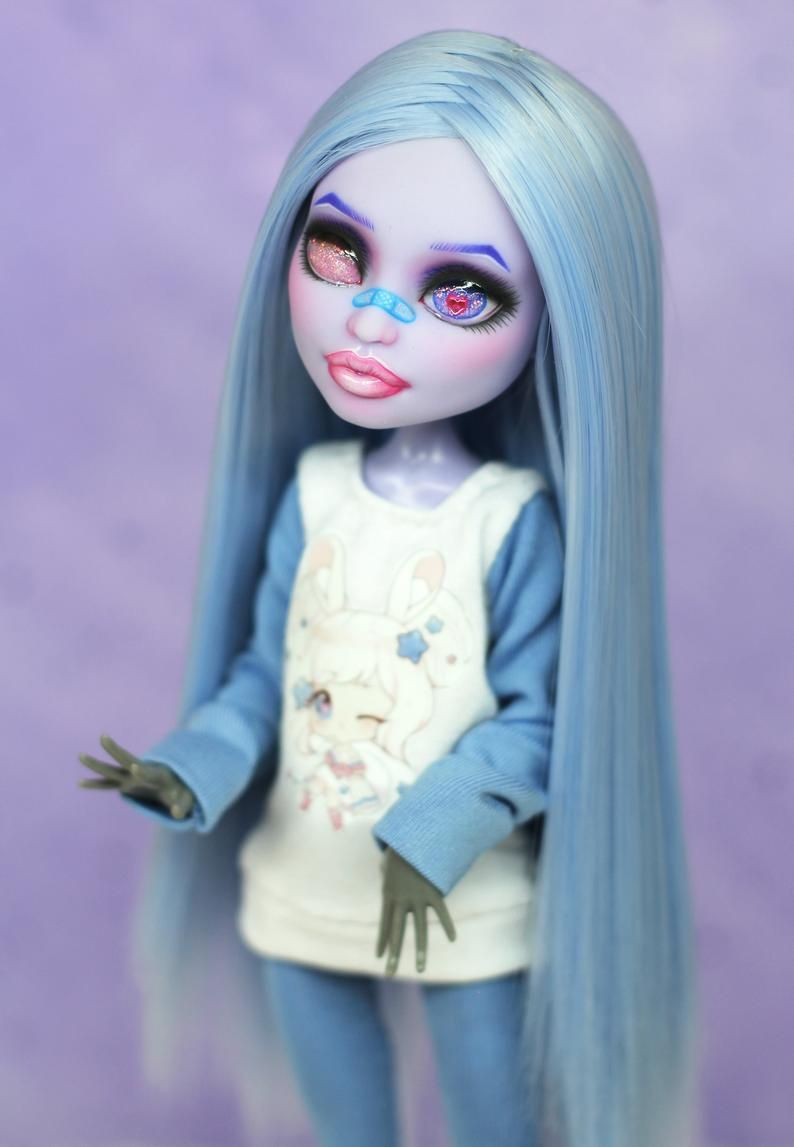 RESERVED for Nathalie! OOAK Monster High repaint doll | Harajuku #ooakmonsterhigh