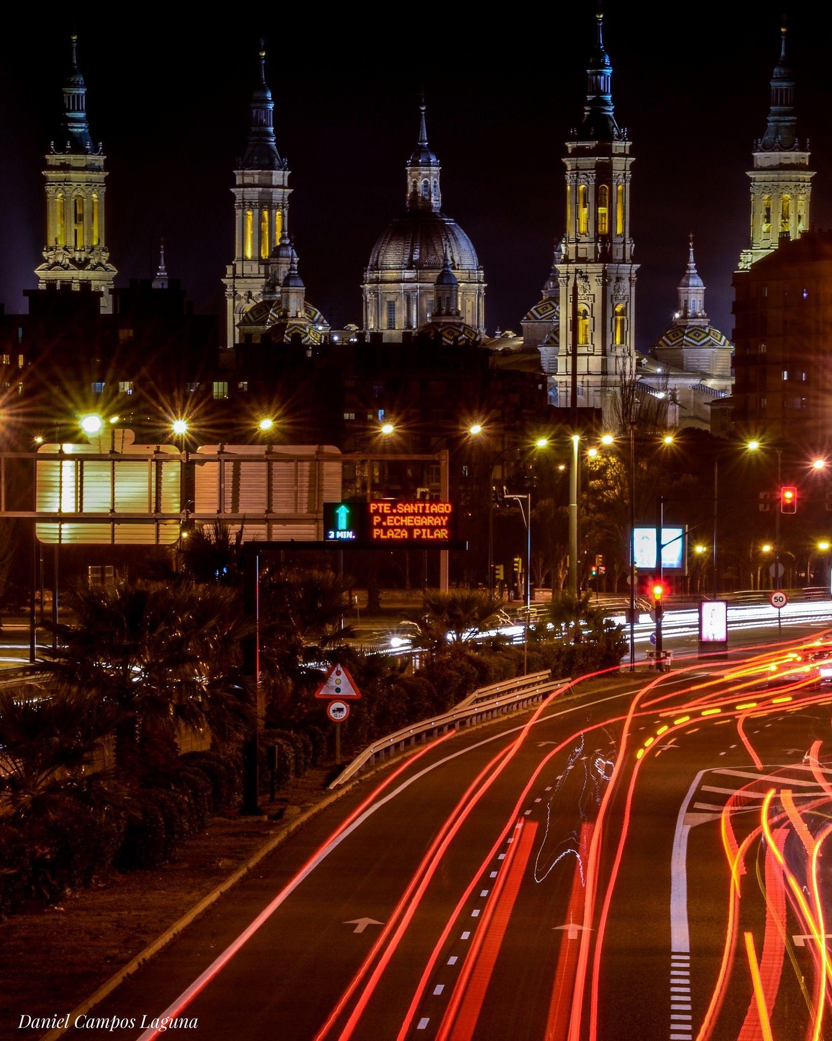 Entrada A Zaragoza Por La Avenida De Los Pirineos I Zaragoza Foto De Daniel Campos Laguna Zaragoza Viajar Por El Mundo Ciudades