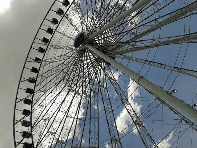 """Puebla.. gigante rueda de la fortuna """"la estrella de puebla"""""""