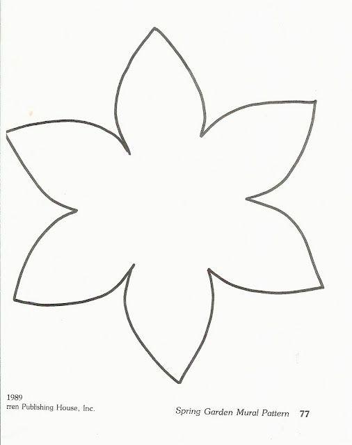 Pin Von Luisa Auf Empreintes Blumen Vorlage Vorlagen Blumen Basteln Blumen Schablone