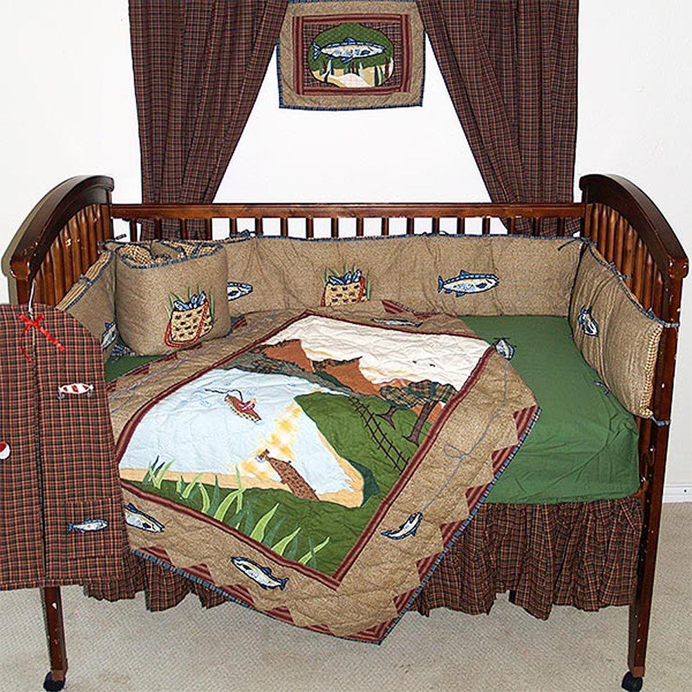 Gone Fishing Crib Bedding Sets