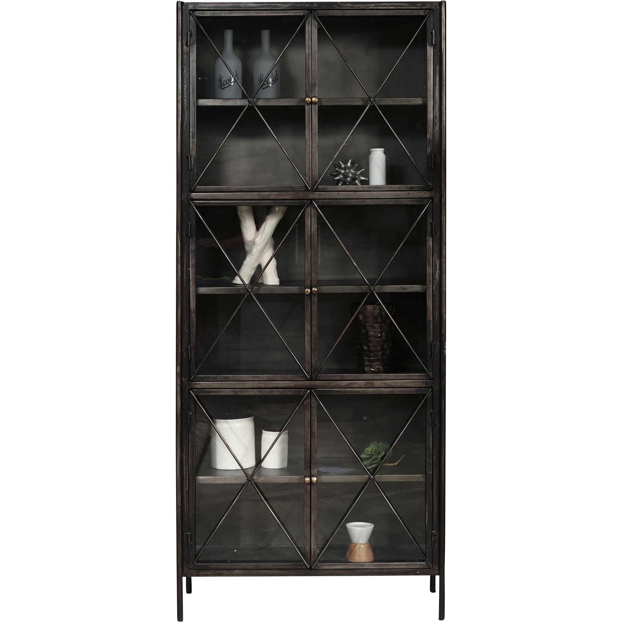 Everett Metal Display Cabinet By Pulaski Home Gallery Stores