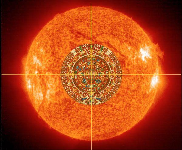 Aztec Sun God Of Kristi Beisecker Aton The Sun And The Holy