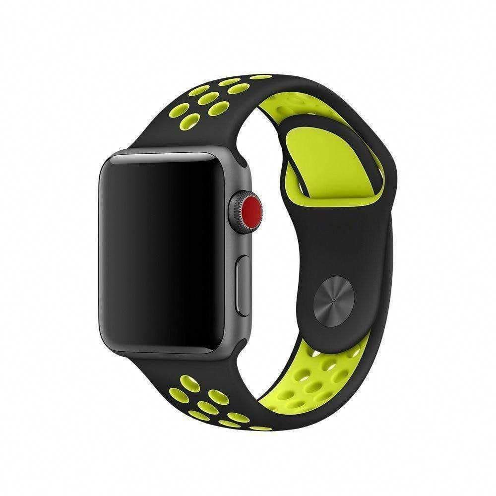 Apple Watch Series 5 4 3 2 Band, Silicone Strap Bracelet