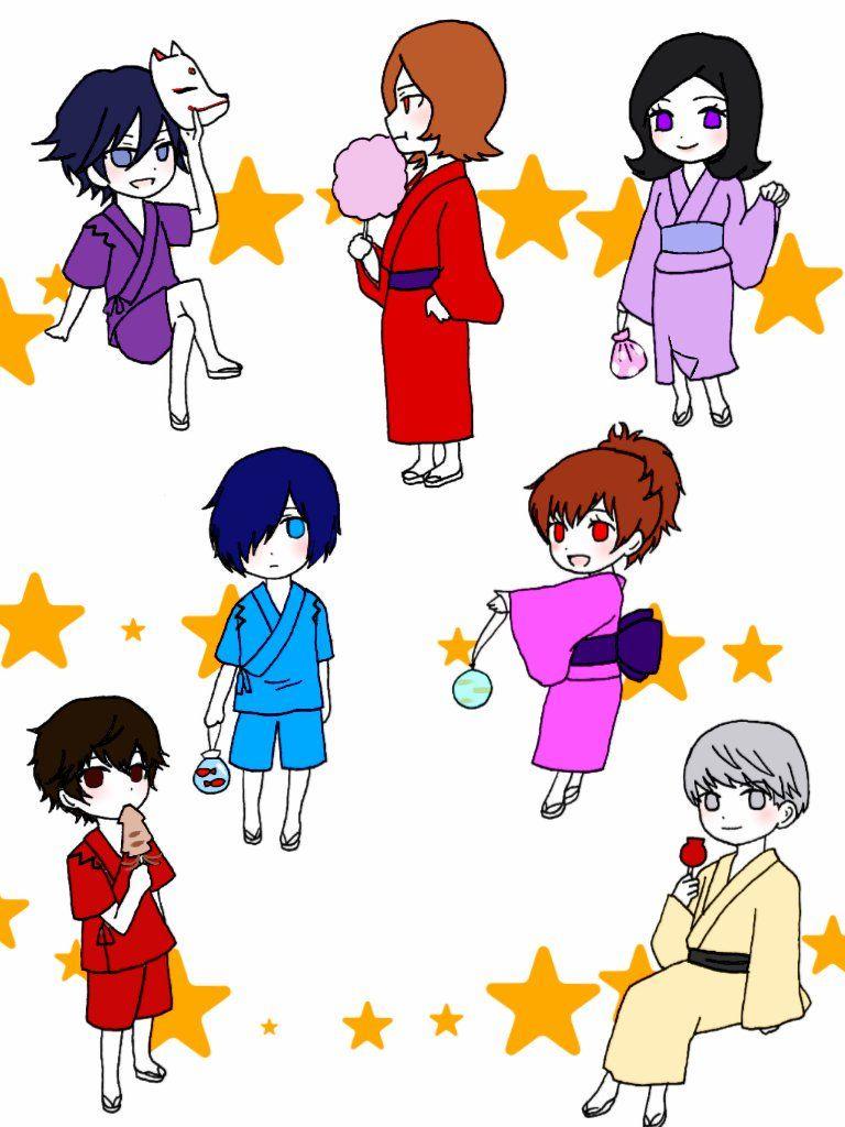 Festival protagonists by 麻詩亜 @soranekokan
