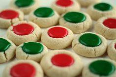 Christmas Thumbprint Cookies from Lisa of The Bearfoot Baker { lilluna.com } cookiefest 2013?