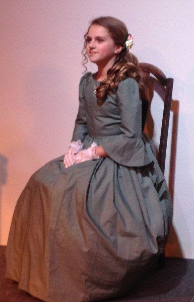 Zerelda-Custom Made 1800s Southern Belle Civil War Girls Dress Historical Reenacting Theatre Play-Custom Order #dressesfromthesouthernbelleera