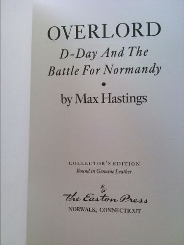 Overlord D-day and the Battle for Normandy | New and Used Books from Thrift Books