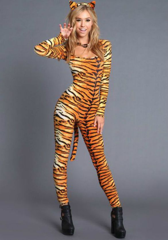 tigress costume for halloween youqueen - Tigress Halloween Costume