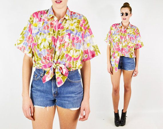 #Vintage #Daisy #Shirt Daisy Print Shirt #Pink #Floral Shirt Floral Print Floral #Blouse Floral #Top #Oversize Shirt #90s Shirt 90s #Grunge Shirt S M L Xl #DaisyPrint #FloralPrint #Oversized #OversizeShirt #OversizedShirt #FloralShirt #Etsy #EtsyVintage #TrashyVintage @Etsy $28.00